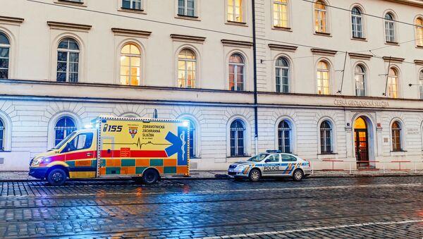 Auta policie a záchranáři. Ilustrační foto - Sputnik Česká republika