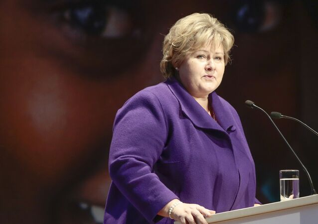 Premiérka Norska Erna Solbergová