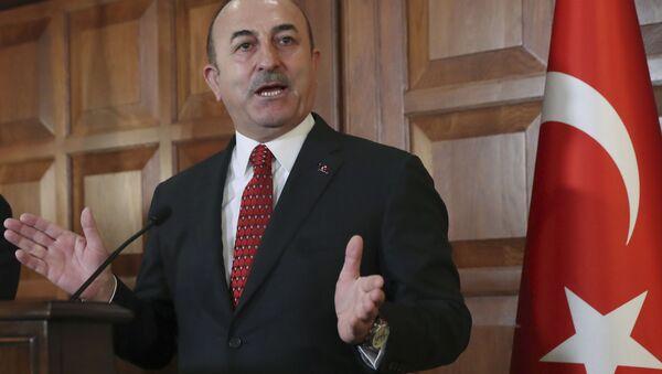 Turecký ministr zahraničních věcí Mevlüt Cavusoglu - Sputnik Česká republika