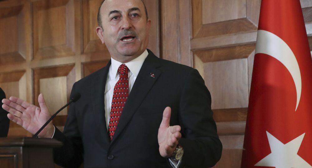 Turecký ministr zahraničních věcí Mevlüt Cavusoglu