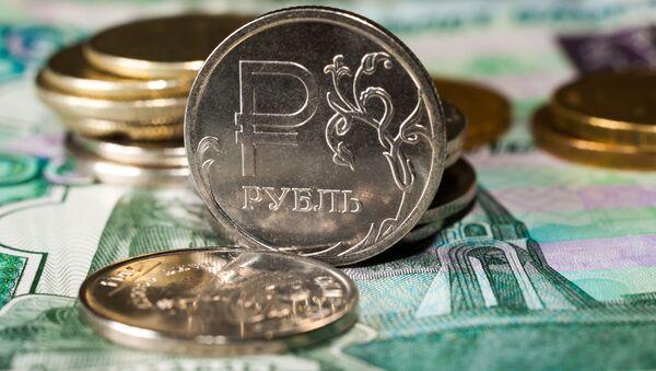 Ruské ruble - Sputnik Česká republika
