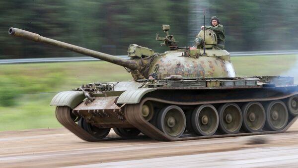 Tank T-55 - Sputnik Česká republika