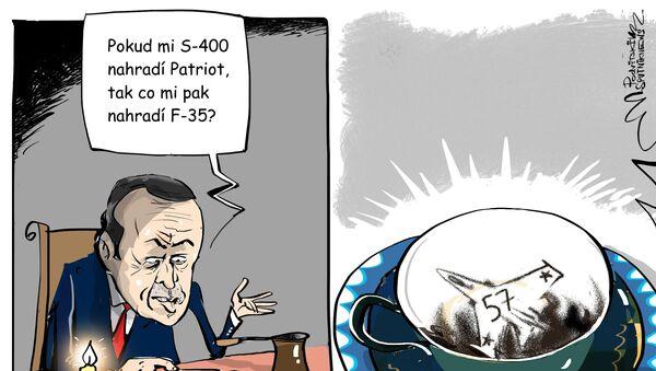 Erdoğan Čtení z kávové sedliny - Sputnik Česká republika