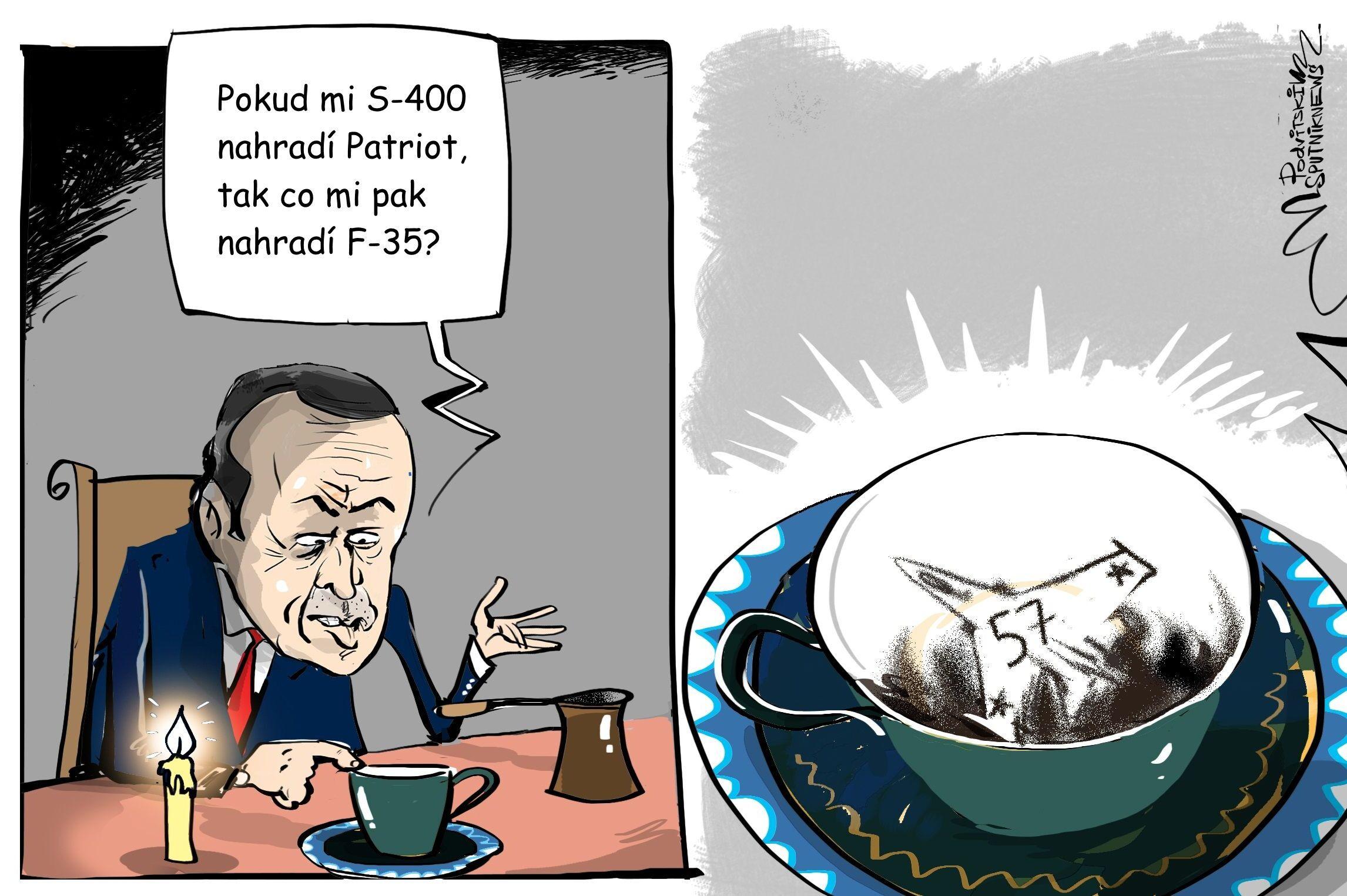 Erdoğan Čtení z kávové sedliny