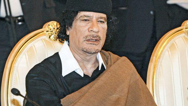 Bývalý libyjský vůdce Muammar Kaddáfí - Sputnik Česká republika