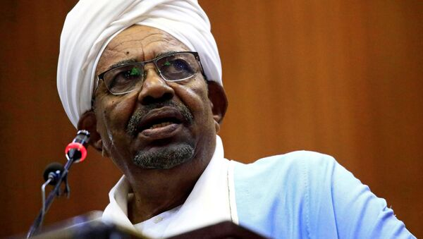 Súdánský prezident Umar al-Bašír - Sputnik Česká republika
