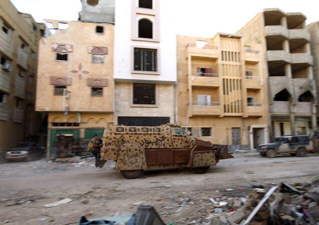 Operace Libyjské národní armády proti skupině DAIŠ. Ilustrační foto