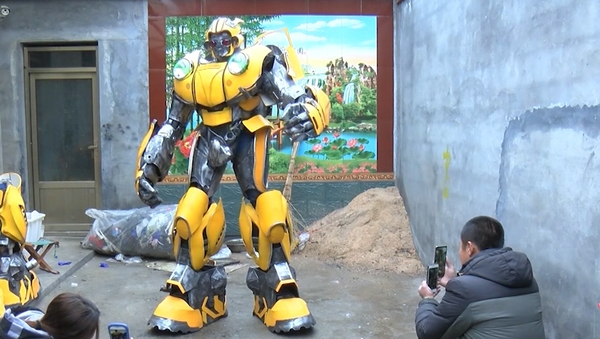 Transformers skutečně existují. A vy můžete být jedním z nich! (VIDEO) - Sputnik Česká republika