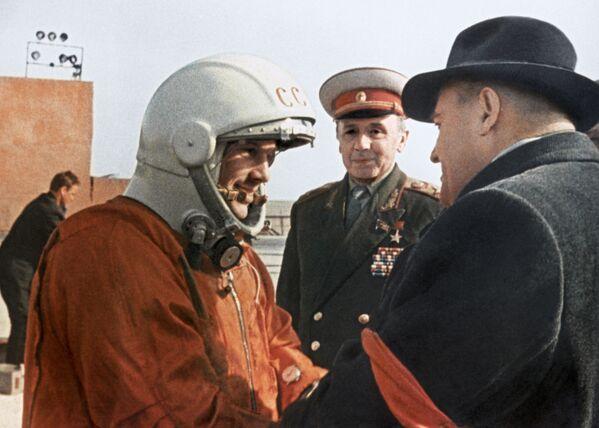 Přání Sergeje Koroljova kosmonautovi Juriji Gagarinovi - Sputnik Česká republika