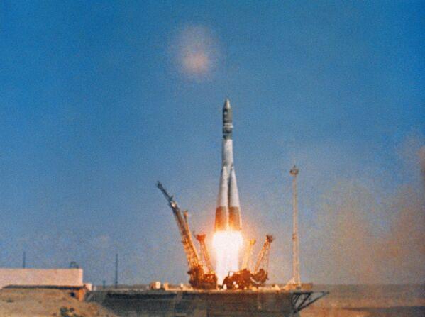 Start kosmické lodi Vostok 1 - Sputnik Česká republika