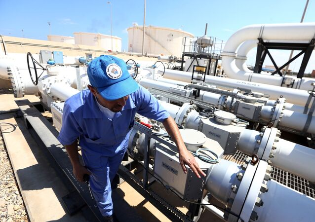 Ropovod v Libyi