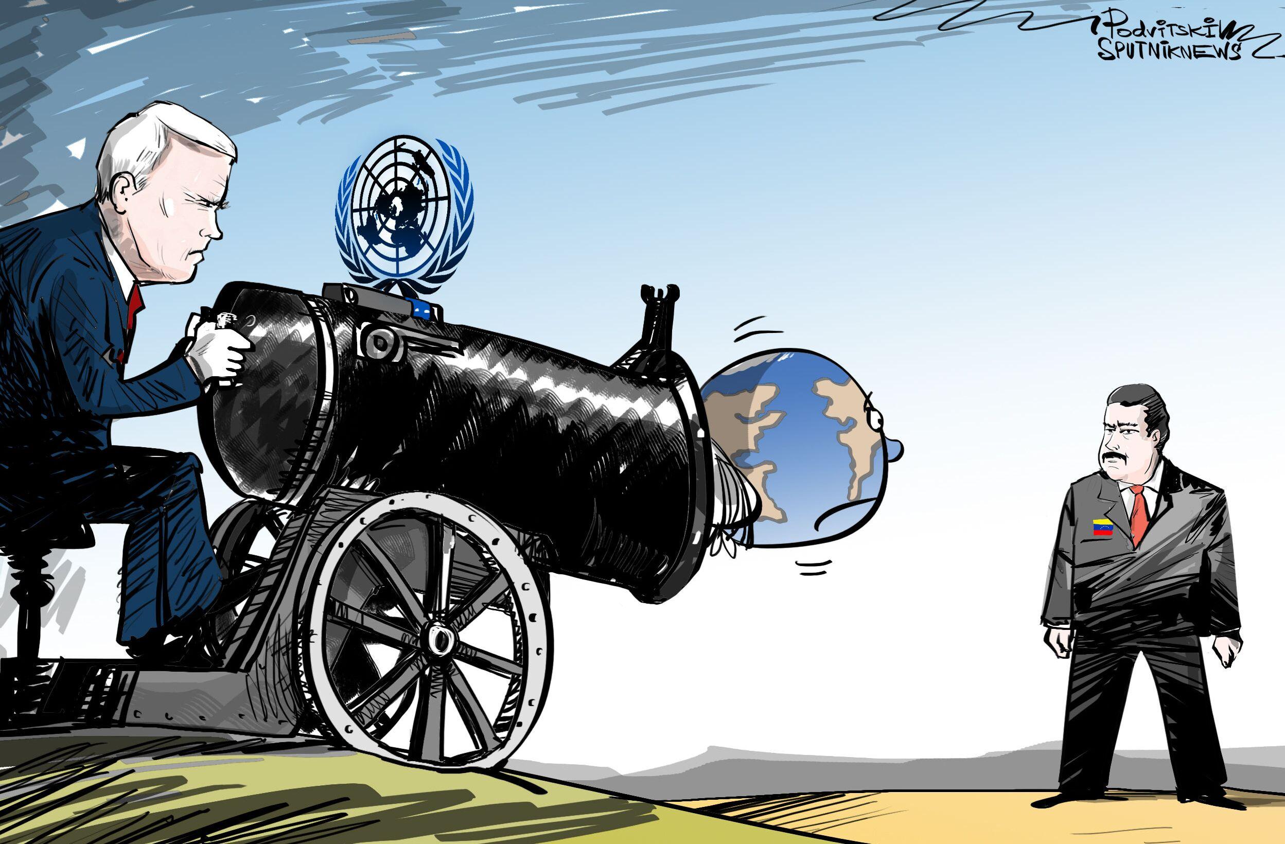 OSN jako nastroj útoku na Venezuelu.