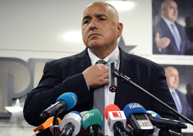 Bulharský premiér Bojko Borisov