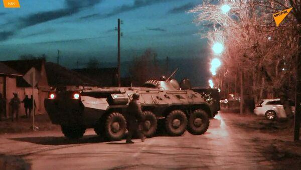 Střelba, požár, panika.  V Rusku zabránili teroristickému útoku IS  - Sputnik Česká republika