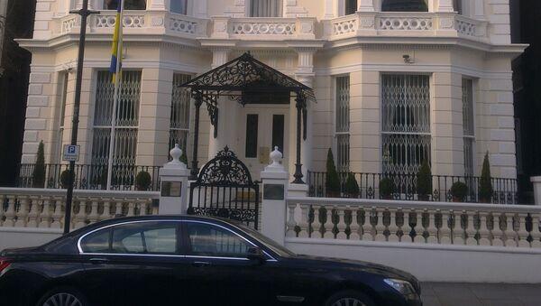 Ukrajinské velvyslanectví v Londýně - Sputnik Česká republika