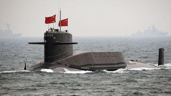Čínská jaderná ponorka - Sputnik Česká republika