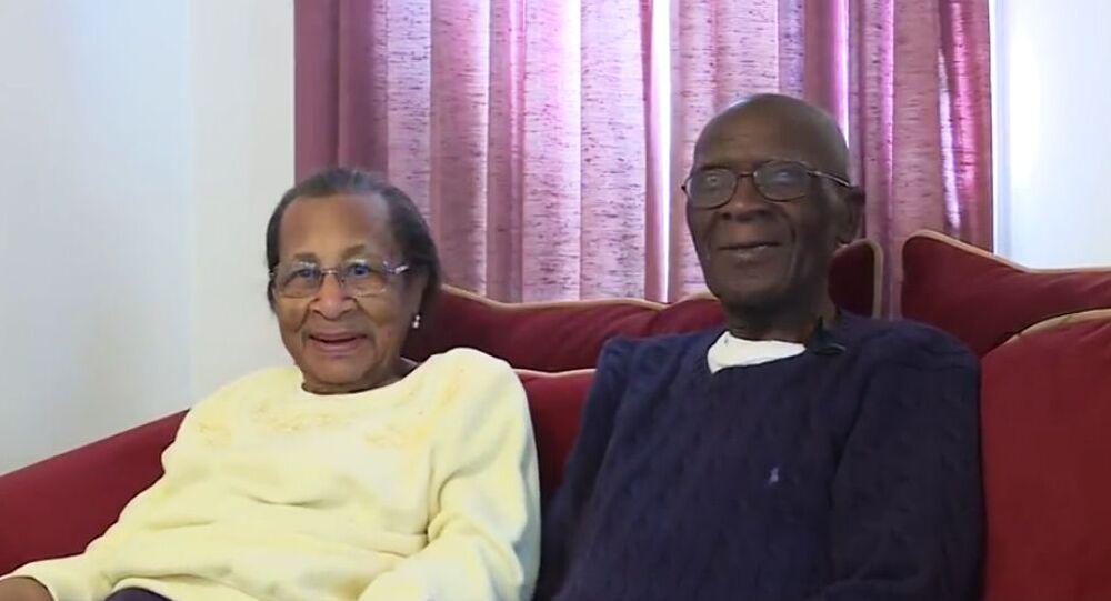 103letý Daniel a 100letá Willie Williams