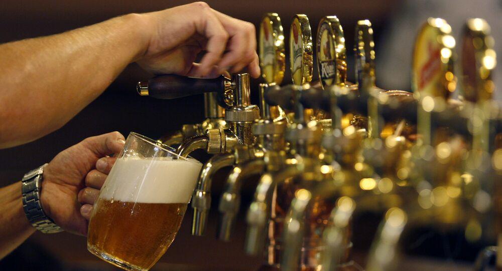 Pivo Plzeň. Ilustrační foto