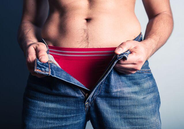 Muž v džínách