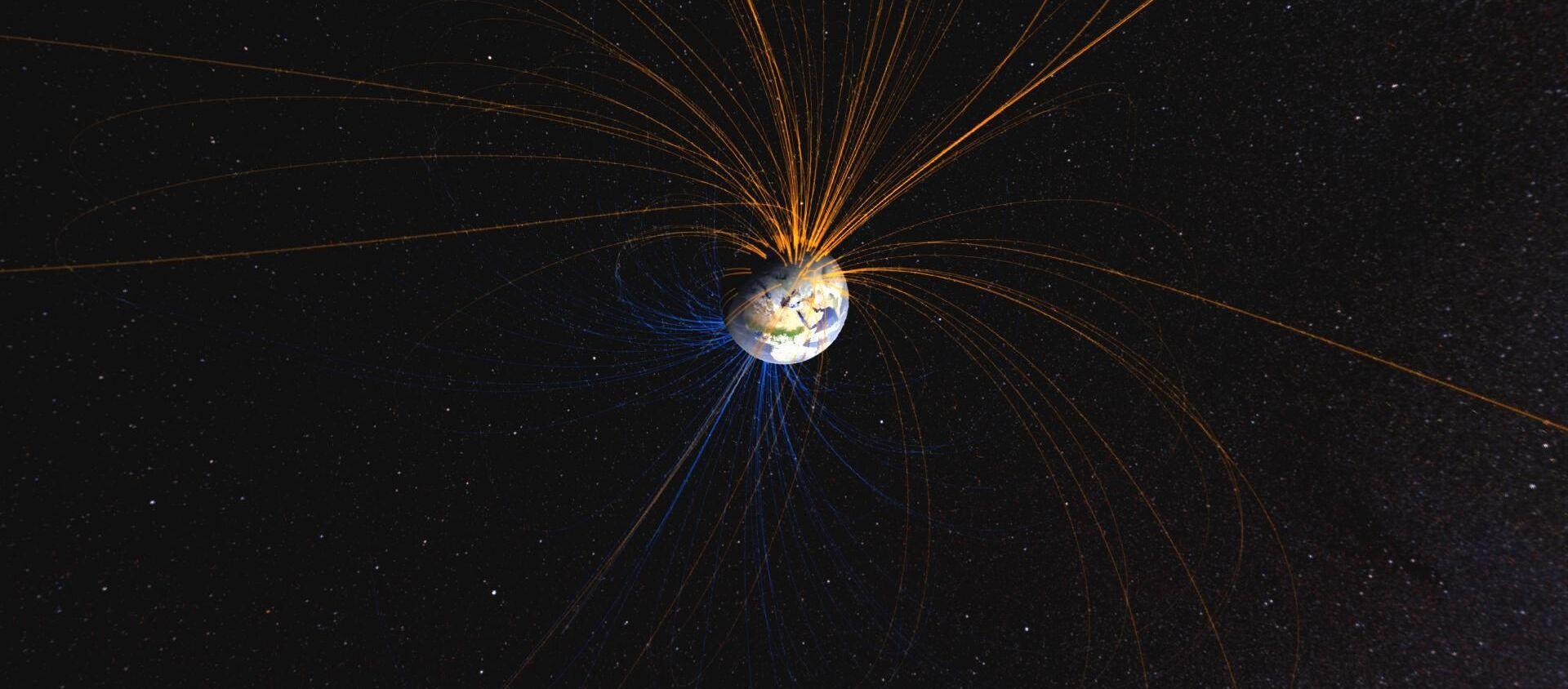 Magnetické pole - Sputnik Česká republika, 1920, 20.02.2021