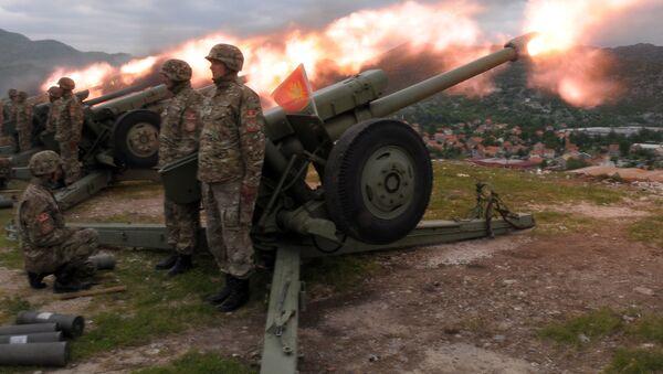 Černohorští vojáci - Sputnik Česká republika