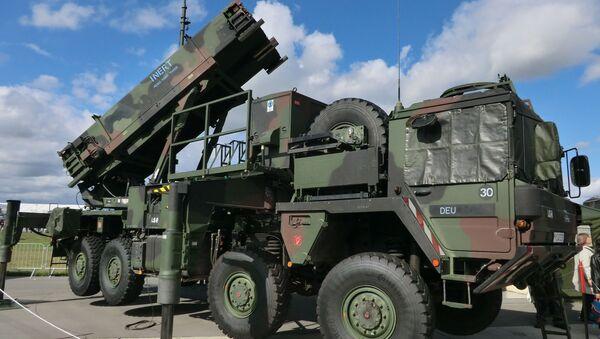 Taktický mobilní raketový systém Patriot - Sputnik Česká republika