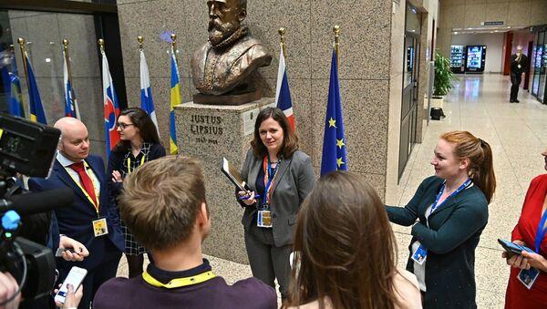 Státní tajemnice pro evropské záležitosti na Úřadu vlády Milena Hrdinková - Sputnik Česká republika