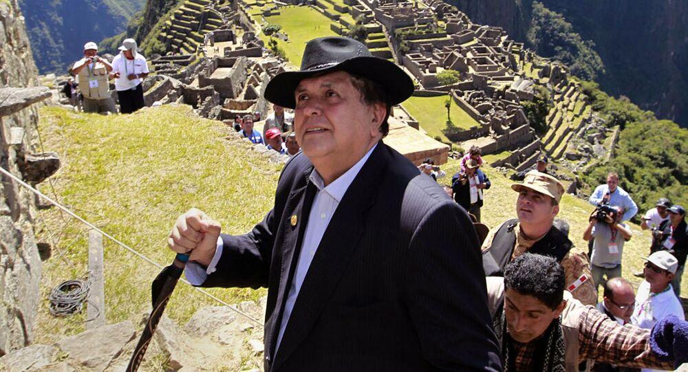 Bývalý peruánský prezident Alan García