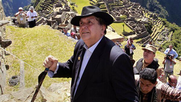 Bývalý peruánský prezident Alan García - Sputnik Česká republika