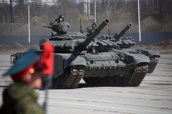 Čest, hrdost, statečnost. V Rusku se konala zkouška přehlídky Dne vítězství - Sputnik Česká republika
