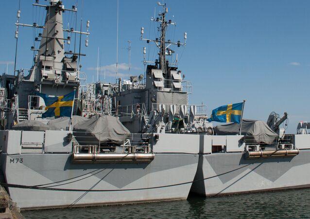 Lodě na námořní základně Berga
