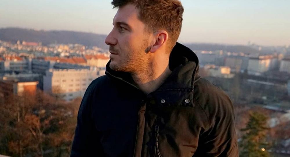 Чешский теле- и радиоведущий Petr Říbal.