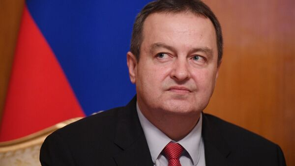Srbský ministr zahraničí Ivica Dačić - Sputnik Česká republika