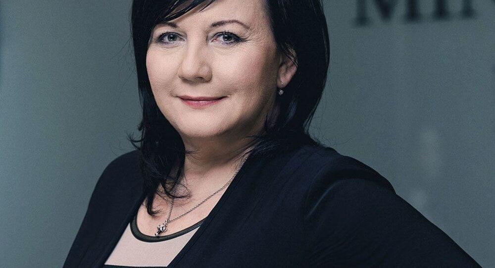 Ministryně financí ČR  Alena Schillerová