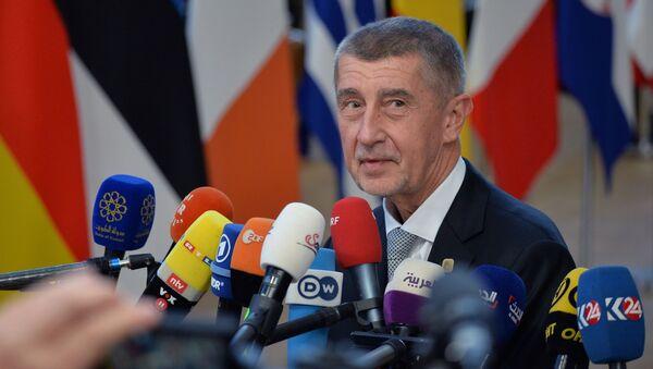 Předseda vlády Andrej Babiš v Bruselu. Ilustrační foto - Sputnik Česká republika