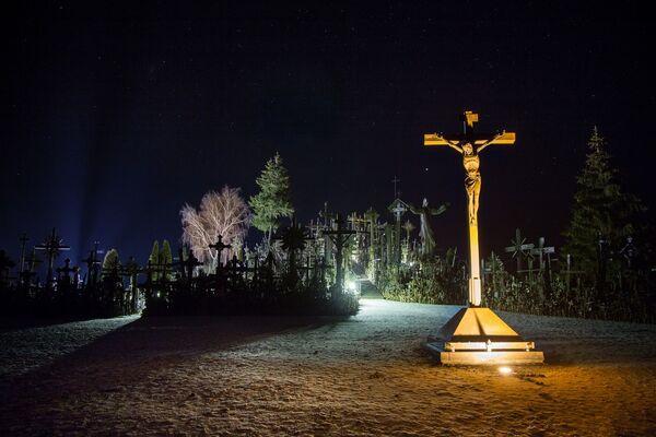 Poutní místo Hora křížů, Litva - Sputnik Česká republika