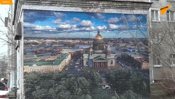 Urban fresky - Sputnik Česká republika