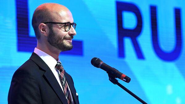 Detlef Wimmer na Mezinárodním ekonomickém fóru v Jaltě - Sputnik Česká republika