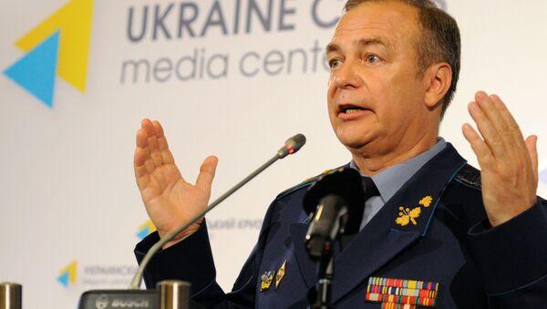 bývalý náměstek náčelníka generálního štábu ukrajinských ozbrojených sil Igor Romaněnko  - Sputnik Česká republika