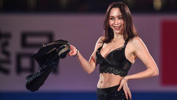 Elizaveta Tuktamyševa se účastní představení na Mistrovství světa v krasobruslení ve městě Fukuoka - Sputnik Česká republika