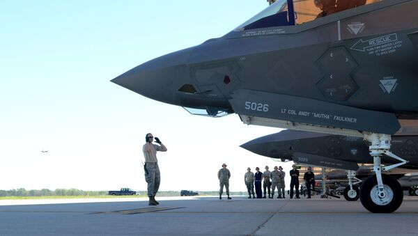Americký stíhačí letoun F-35A Lightning II - Sputnik Česká republika