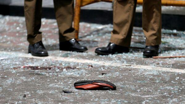 Boty oběti série výbuchů na Srí Lance - Sputnik Česká republika