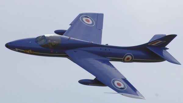 Stíhačka-bombardér Hawker Hunter - Sputnik Česká republika