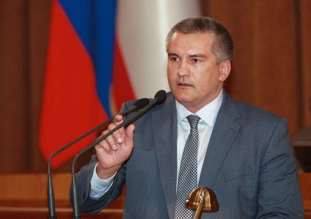 Hlava Krymu Sergej Aksenov
