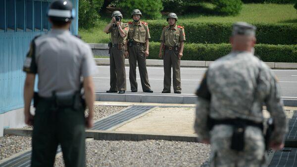 Korejské demilitarizované pásmo - Sputnik Česká republika