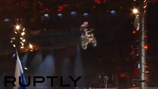 Sevastopol: Bike-show Nočních vlků - Sputnik Česká republika
