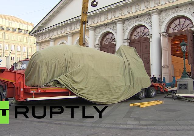 Car-bomba dorazila do Moskvy