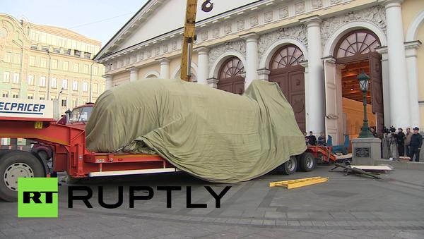 Car-bomba dorazila do Moskvy - Sputnik Česká republika