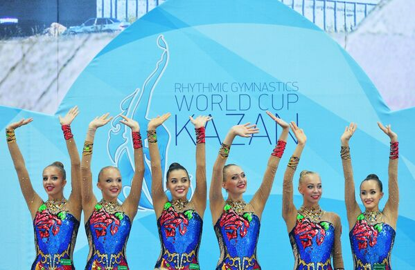 Ruské moderní gymnastky - Sputnik Česká republika