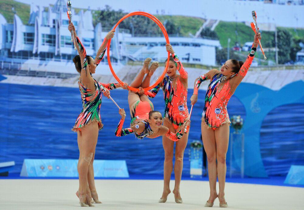 Běloruské moderní gymnastky